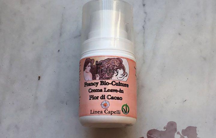 Crema Leave-in Fior di Cacao, Francy Bio-Culture